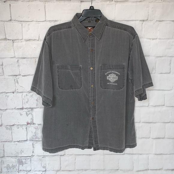 Harley-Davidson Other - VTG Harley Davidson Australia Shirt XXL